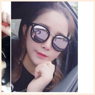2018新款墨镜女潮韓版太陽眼鏡圆脸明星同款眼镜男長面