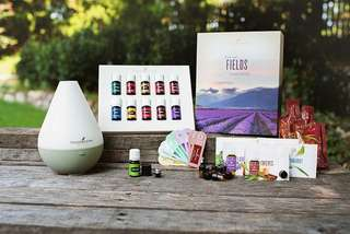 Young Living premium starter kit - Dew drop diffuser