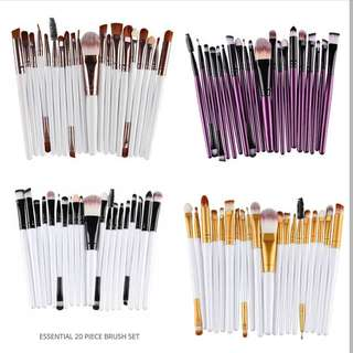 20pcs Make up brushes