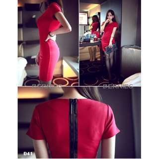 🔴 SALES | BNIB Korean Style Bodycon Dress (D41)