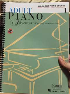 Adult piano adventures (Faber)