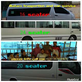 Batam transportation and car service