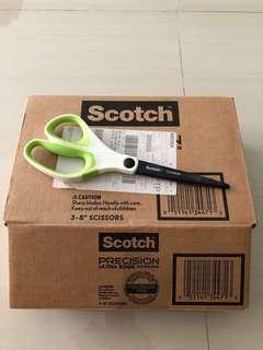 3M Scotch Precision Ultra Edge Scissors (3 pack)