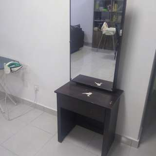 Dressing Table w/ Sliding Mirror