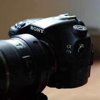 Sony a77ii body