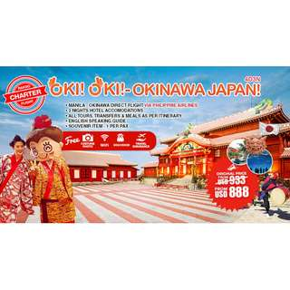 OKINAWA JAPAN BUY 1 GET THE 2ND AT 50% OFF