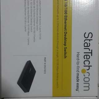 5 Port 10/100 Ethernet Desktop Switch