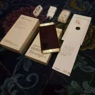 Samsung galaxy s6 edge plus ➕ gold