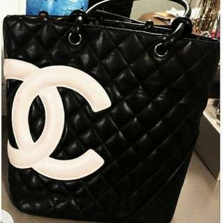 *AUTHENTIC* CHANEL CAMBON TOTE