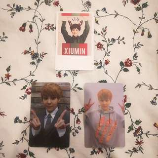 EXO Xiumin Duplicate Growl Photocard #BAJET20