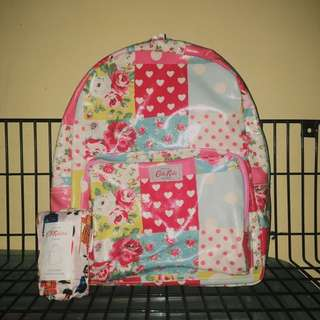 Cath Kidston Backpack with free shopping bag