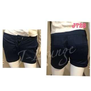 J728南俄百貨服飾品牌oodji西裝布滑面質感短褲氣質文青小清新學院OL shorts J-Lounge