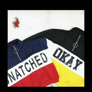 crop sweater H&m(replika)