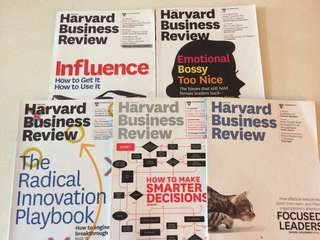 HBR second hand issues