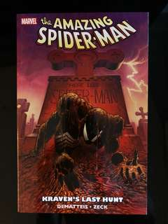 Amazing Spider-man Kraven's Last Hunt graphic novel