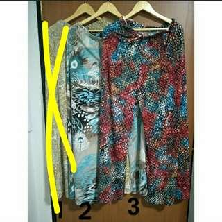 Pattern Pants - Plus size