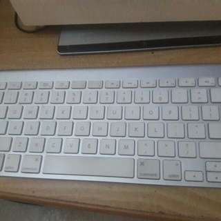 Apple imac wireless (bluetooth) keyboard