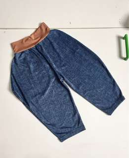 Cotton jeans look a like
