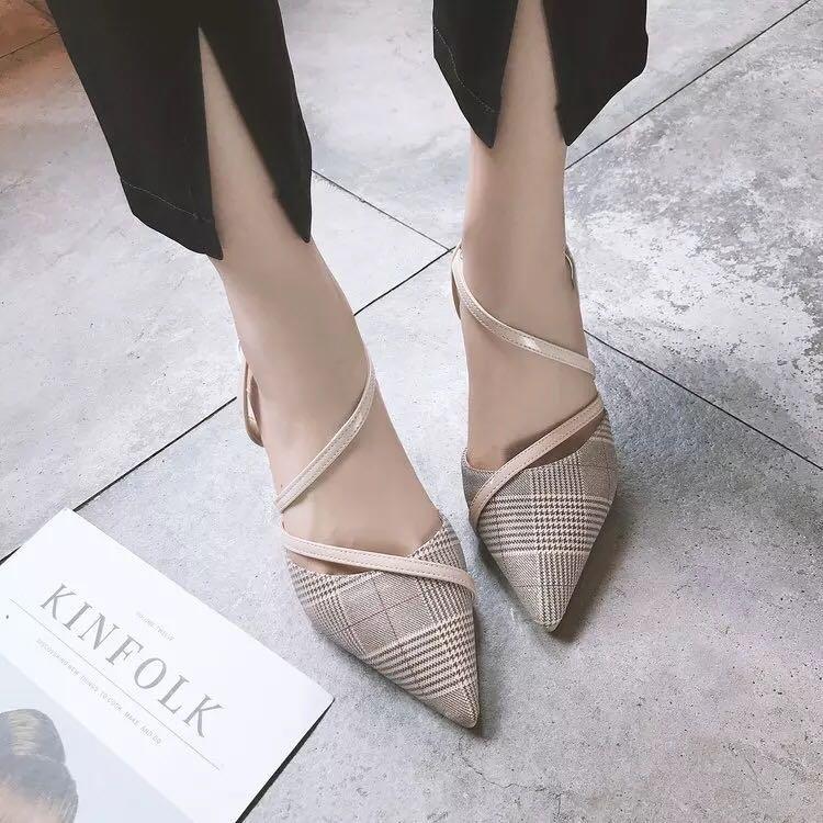 shoes Baotou wild cat
