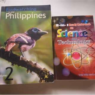Birdwatching in the Philippines and Science reference or dictionary