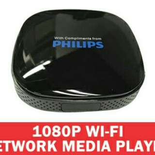 Philips Android Smart Box. Available in HD1080 and 4K. Remote Control and FREE HDMI Cable included.