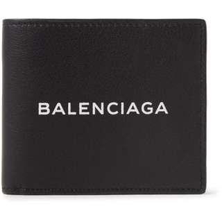 BALENCIAGA Leather Billfold Wallet 巴黎世家 銀包