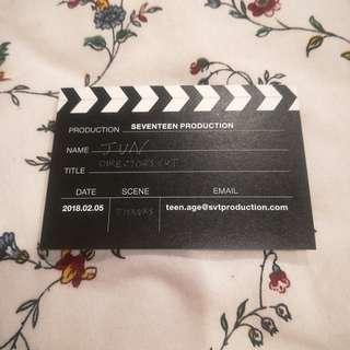 Seventeen Jun Business Card