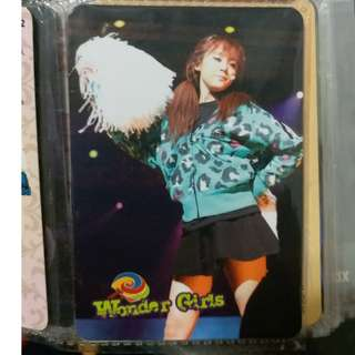 Wonder Girls yescard