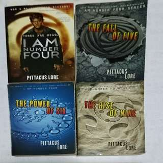 I am number four - 4books collection