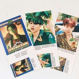 EXO Photocards (Baekhyun, Xiumin)
