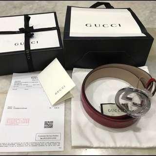 Gucci Red belt