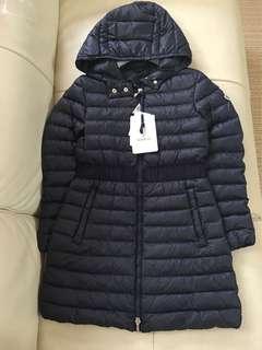 Year 12 (00-0)全新Moncler down coat 長身款