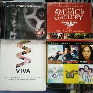 MOVIE AND TELESERYE THEME SONGS COLLECTION