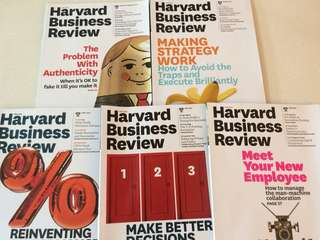 HBR past issues Jan-Dec 2015