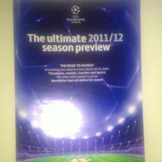 FOOTBALL Champions League Guide 2011/2012