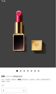 Tom Ford Lipstick Lips & Boy #Alex