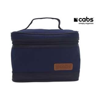 Cabs Pocket Cosmet - Tas Kosmetik Anti Air, Dompet Alat Make Up, Tas Organiser Tuk Bedak, Lipstik, Kaca, Eyeliner Dll - Navy