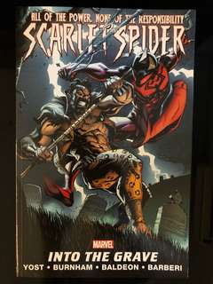 Scarlet Spider volume 4 Into The Grave graphic novel