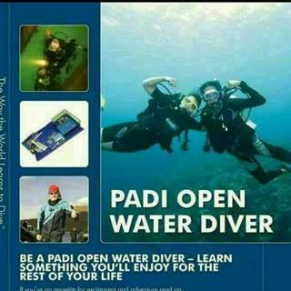 PADI OPEN WATER DIVER COURSE ( BEGINNER COURSE )  2 DAYS 2 NIGHTS OR 3 DAYS 3 NIGHTS IN TIOMAN ISLAND