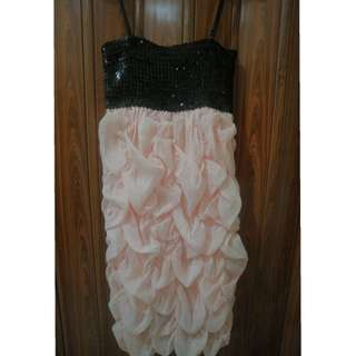 Dress Pesta Kemben Tali