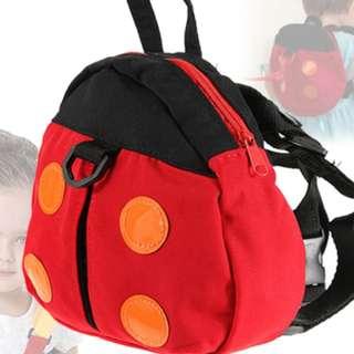 Ladybug Backpack Walker Harness Safety Strap Kids bag