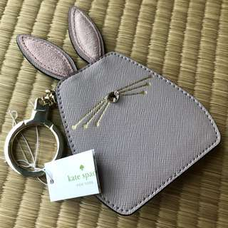 CHEAP Authentic BN Kate Spade Leather Bunny Key Ring / Keychain / Bag Charm