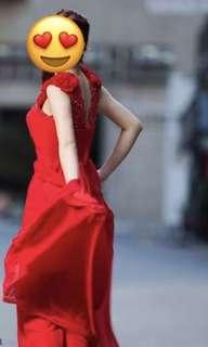 Red dress 紅色晚裝