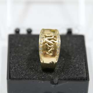 Feng Shui Dragon Ring from OE Jewellery
