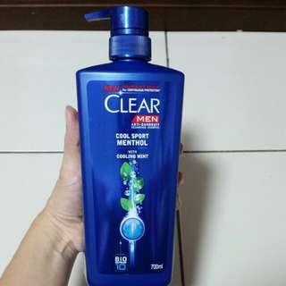 CLEAR MEN anti-dandruff Nourishing Shampoo at S$16