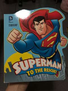 Superman to the Rescue, Children Story Book