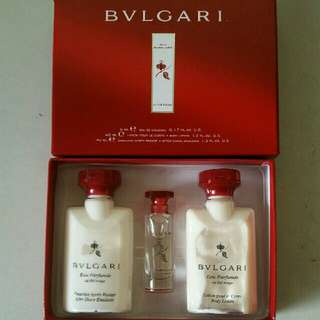 Bvlgari Au The Rouge Set