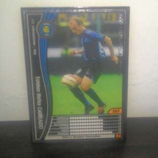 FOOTBALL CARD - Esteban Cambiasso