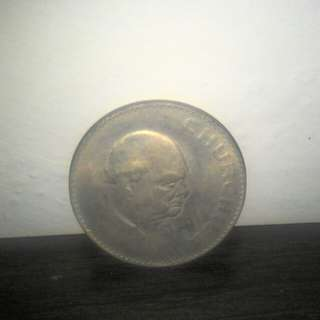 COIN - Winston Churchill Commemorative Coin (1965)