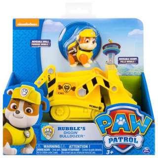 Paw Patrol Rubble's Diggin' Bulldozer